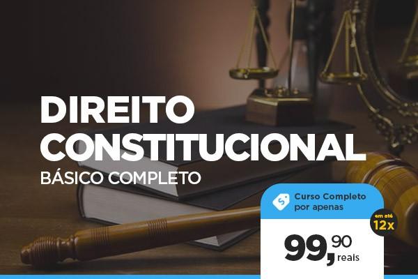 Curso de DIREITO CONSTITUCIONAL