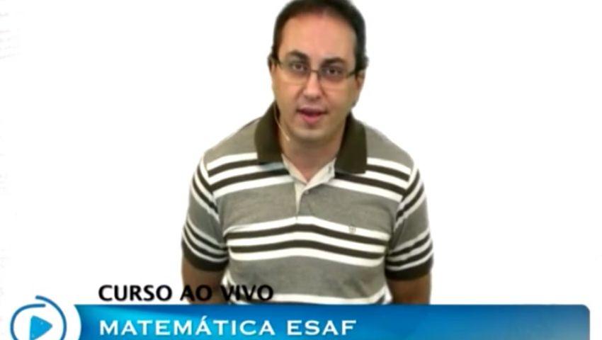 MATEMÁTICA ESAF - AULA 01 - PARTE 01 - P.A.