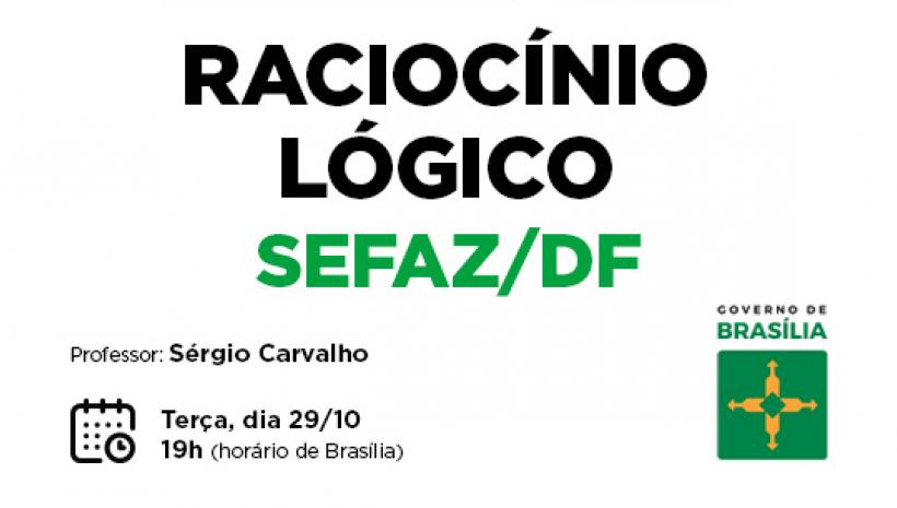 SEFAZ/DF: aulão gratuito hoje!