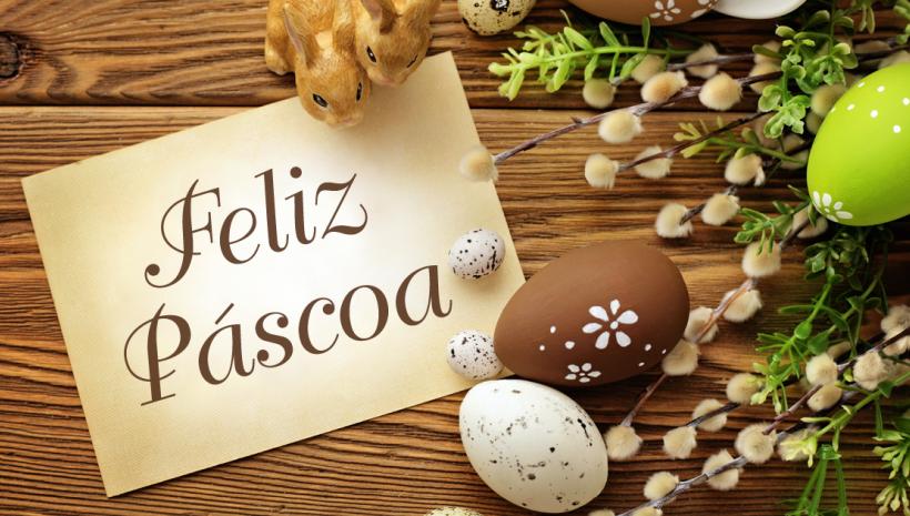 Feliz Páscoa de Luz!