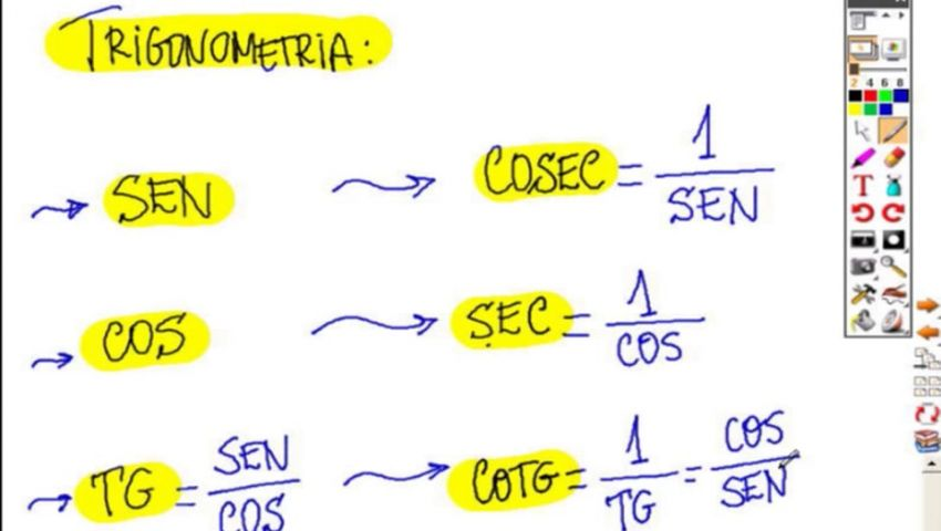 MATEMÁTICA ESAF - AULA 13 - PARTE 01 - TRIGONOMETRIA