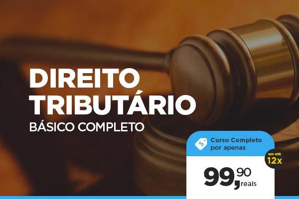 Curso de DIREITO TRIBUTÁRIO