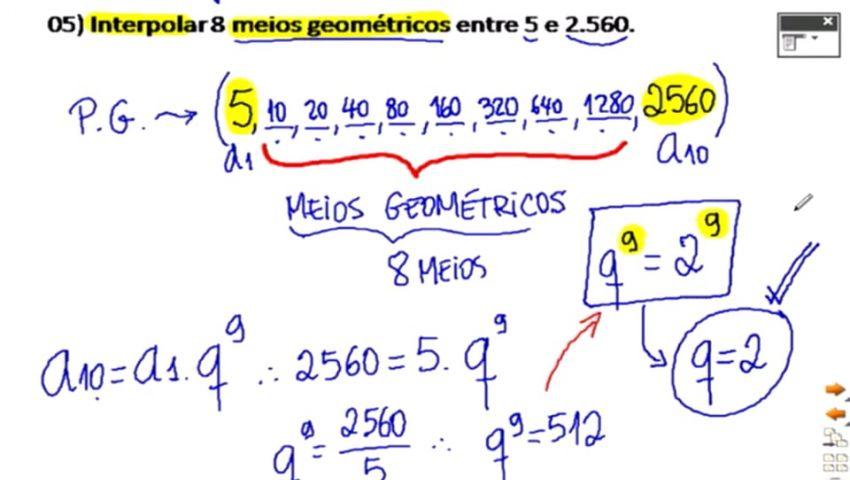 MATEMÁTICA ESAF - AULA 02 - PARTE 02 - P.G.