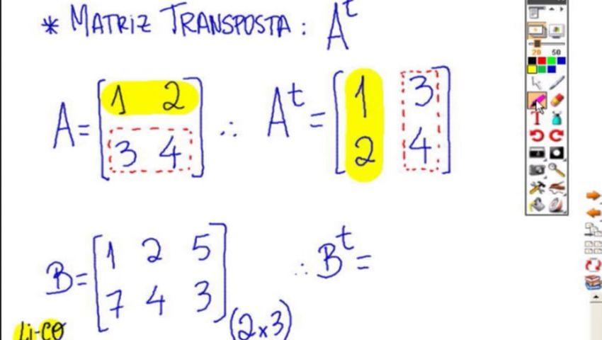 MATEMÁTICA ESAF - AULA 09 - PARTE 01 - MATRIZES