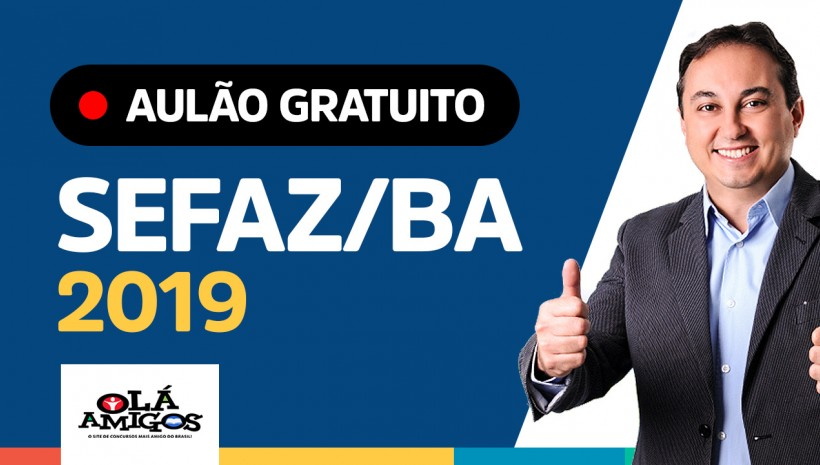 SEFAZ/BA: aulão gratuito hoje!